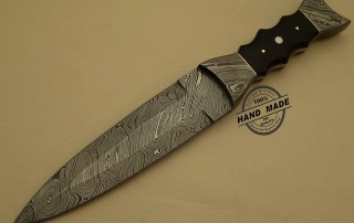 Damascus Dagger Knife