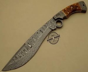 Amazing Damascus Finger Knife