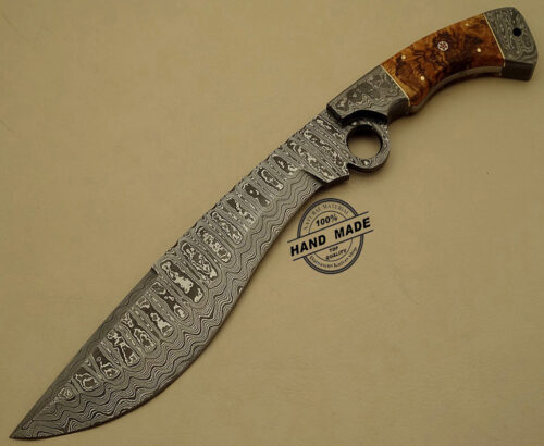 Damascus Finger Knife