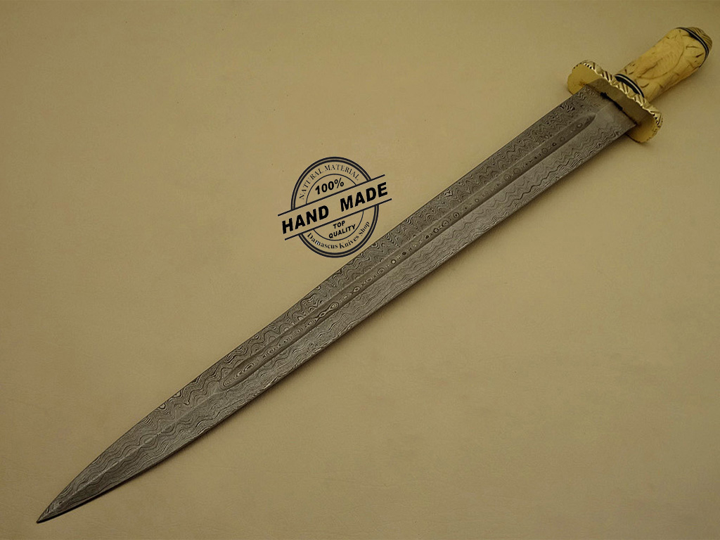Professional Damascus Sword