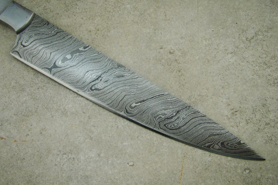Blank Blade Damascus Kitchen