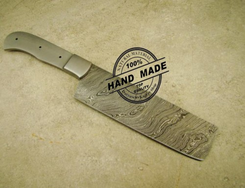 Blank Blade Butchers Cleaver Chef's Knife