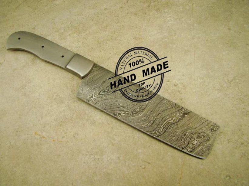 blank blade butchers cleaver chef 39 s knife. Black Bedroom Furniture Sets. Home Design Ideas
