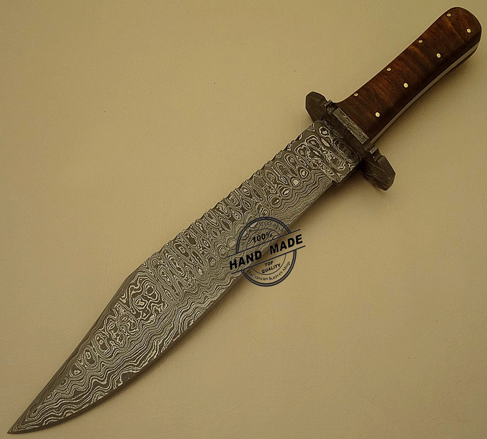 handmade knives professional damascus bowie knife custom handmade damascus 608