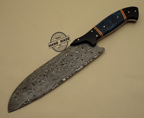 lot of 3 pcs professional chef knife custom handmade damascus. Black Bedroom Furniture Sets. Home Design Ideas