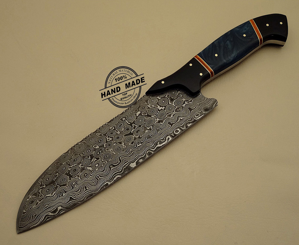 damascus kitchen knives damascus kitchen knife custom handmade damascus steel kitchen
