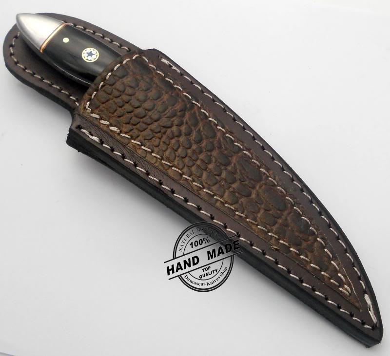 new damascus chef s knife custom handmade damascus steel knife. Black Bedroom Furniture Sets. Home Design Ideas