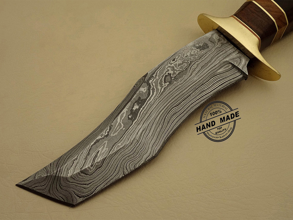 how to clean damascus steel