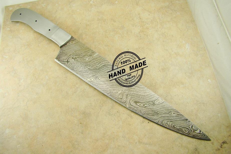 blank blade professional blank blade kitchen knife custom. Black Bedroom Furniture Sets. Home Design Ideas