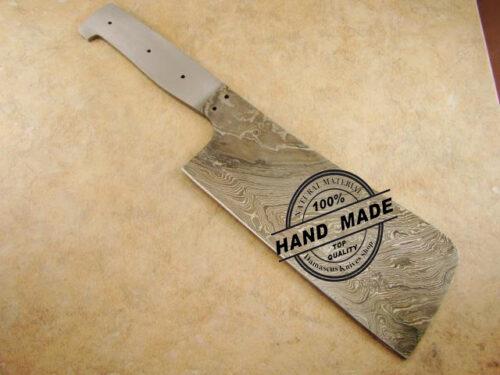 damascus kitchen blank blade online selling custom handmade knives. Black Bedroom Furniture Sets. Home Design Ideas