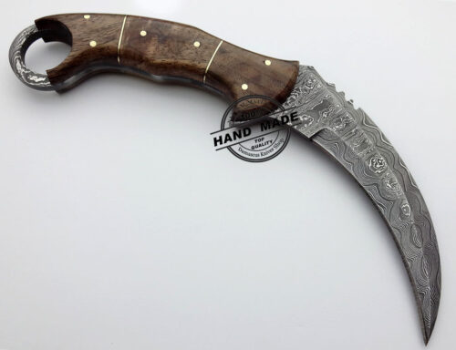 Full Damascus Karambit
