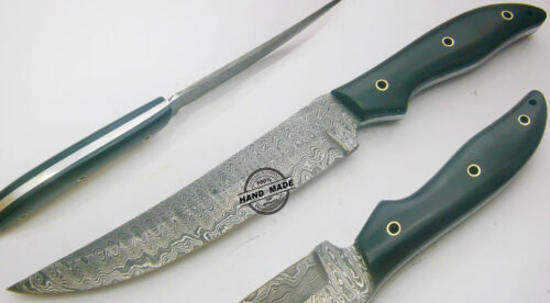 Damascus Kitchen Knife 0023