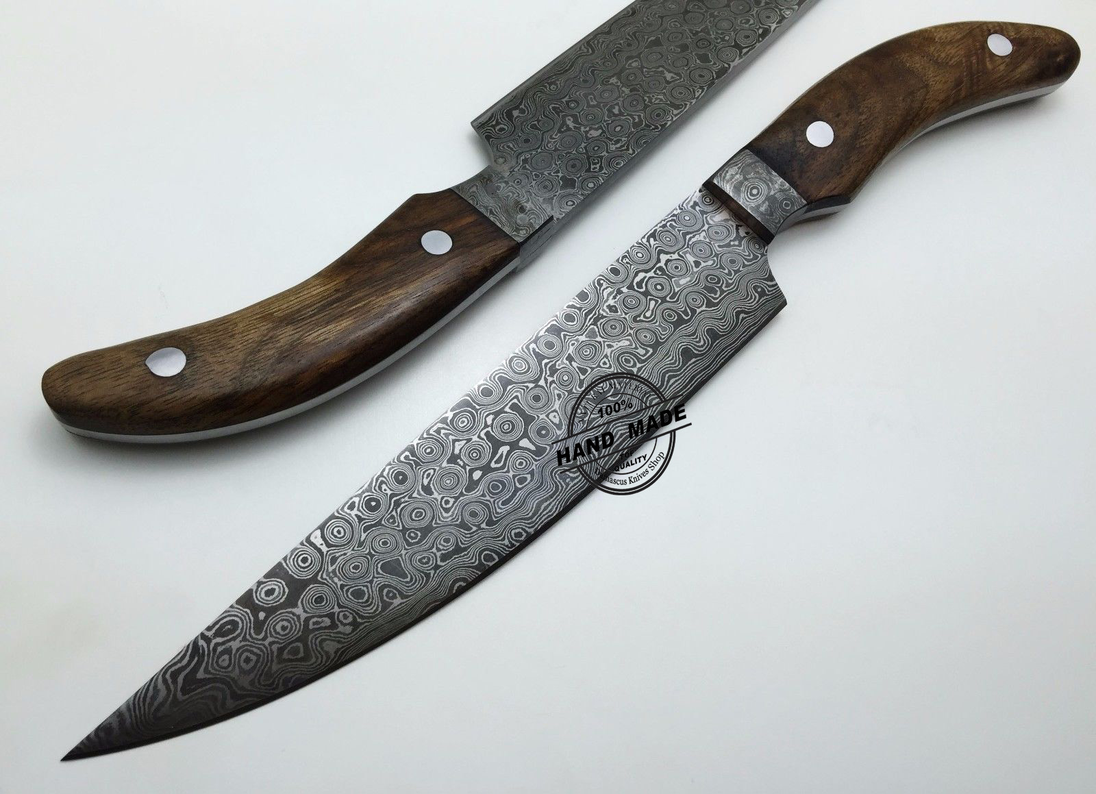 custom kitchen knives damascus kitchen knife custom handmade damascus steel kitchen 1515