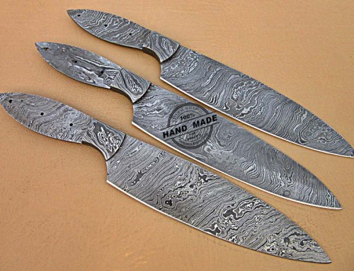 Kitchen Knives 3 PCs Set