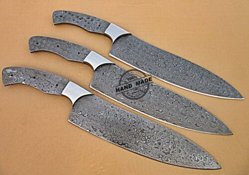 Kitchen Knives Blank Blade