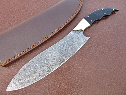 Damascus Kitchen Knife