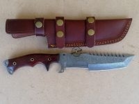 Damascus Tanto Tracker Knife