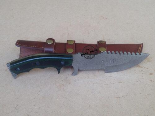 Damascus Tracker Knife