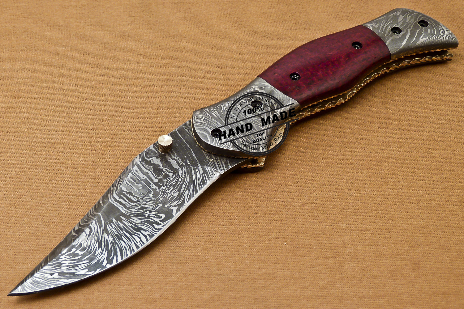 how to make a liner lock knife