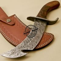 Turkish Style Damascus Hunting Knife