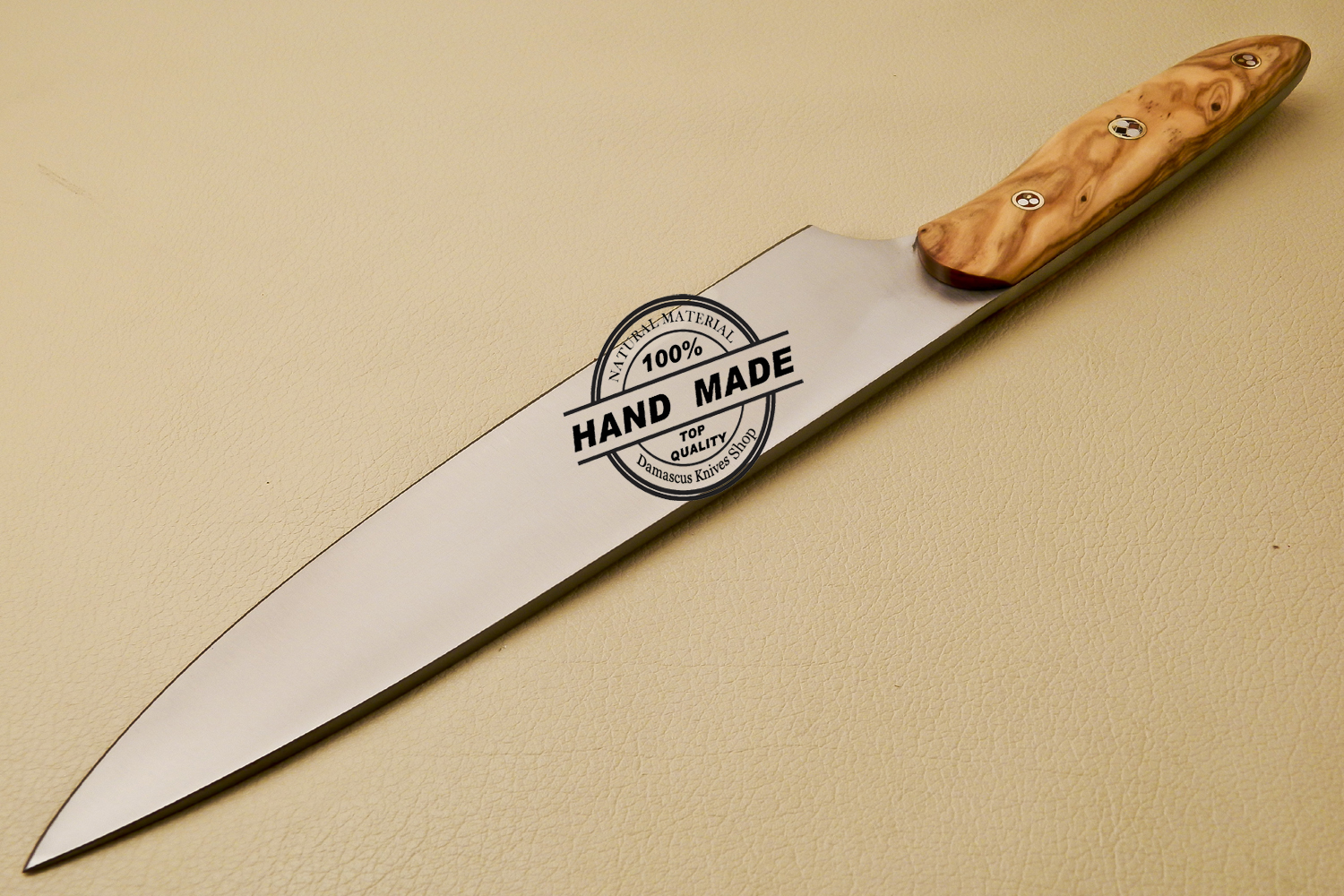 Custom made kitchen knives 28 images damascus kitchen for Roman bathrooms blackheath