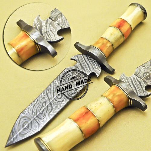 Damascus Dagger Skinner