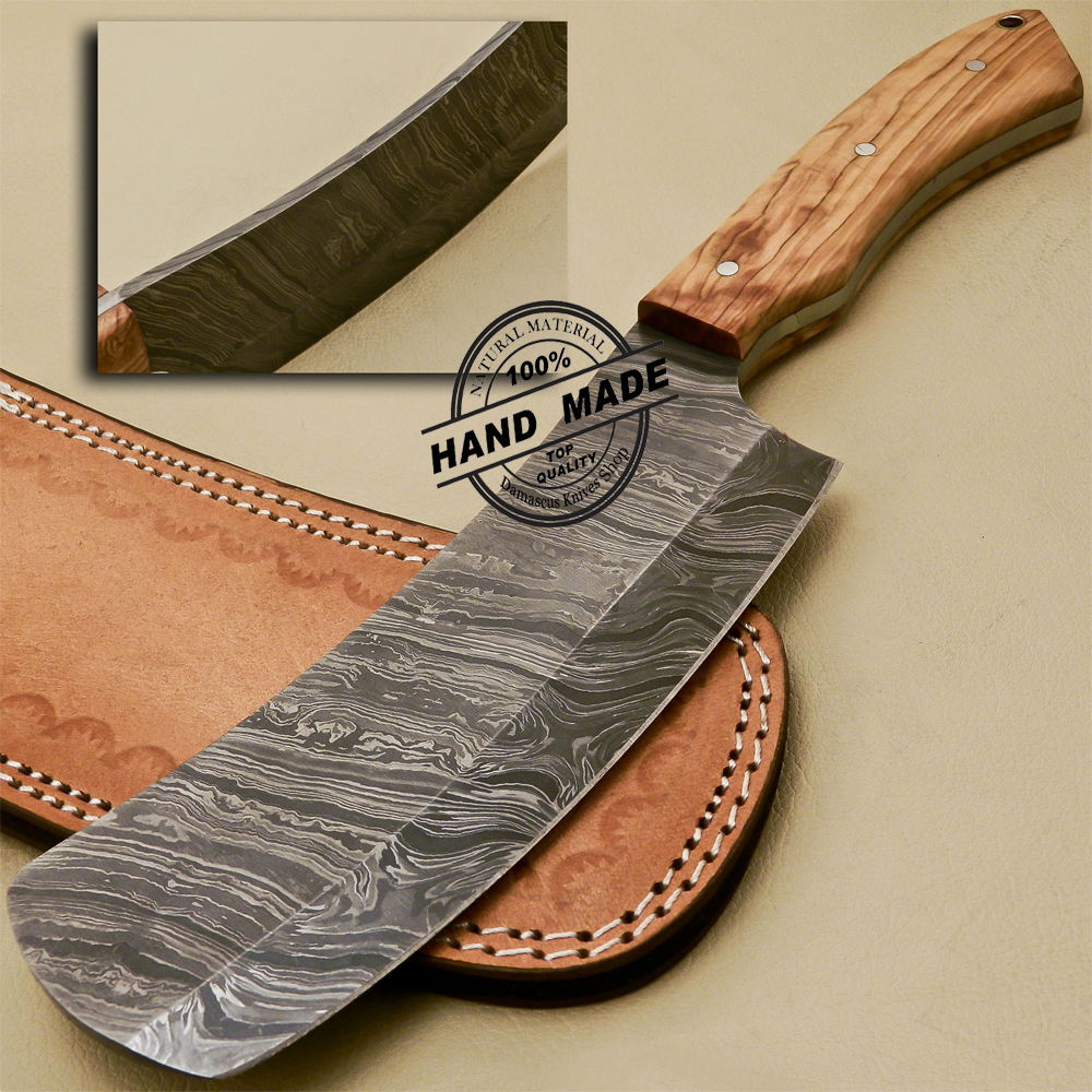 Damascus Cleaver Butchers