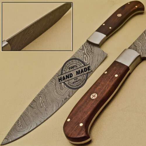 Damascus Kitchen Knife