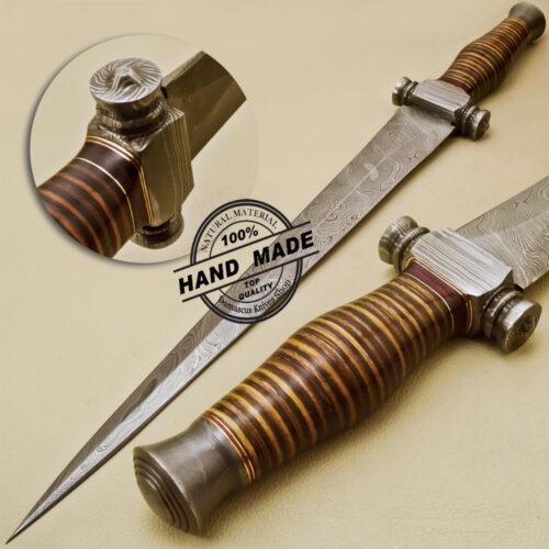 Damascus Dagger Knife