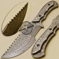 Damascus Tracker Knife
