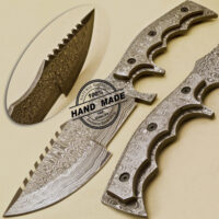 Full Damascus Tracker Knife