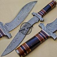 Damascus Kukri Knife