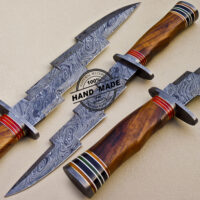 New Damascus Bowie Knife