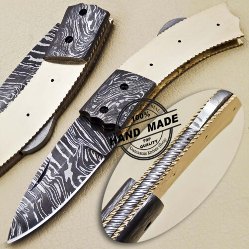 Folding Blank Blade Knife