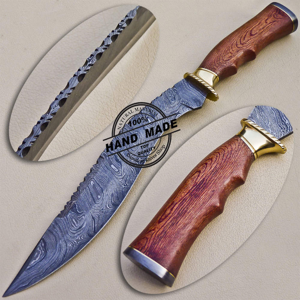 Damascus Kukuri Knife