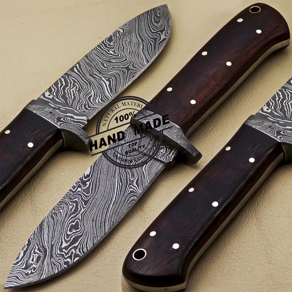 Damascus Skinner Knife