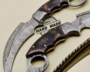 Damascus Karambit Knife