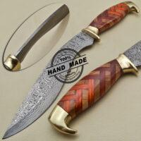 Damascus Kukuri Knife